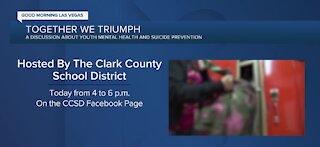 Clark County School District focusing on students' mental health