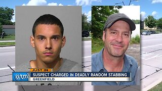Suspect charged in deadly random stabbing