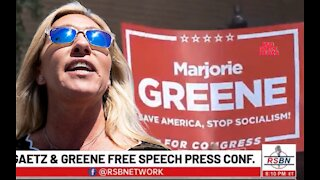 Marjorie Taylor Greene Will Not Be Cancelled, Will Not Back Down