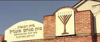 Jewish families celebrating virtual Passover