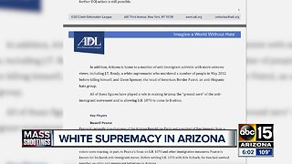 Arizona has a long history as center of white supremacy
