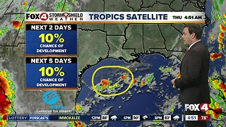 Forecast: Morning showers and afternoon storms again today