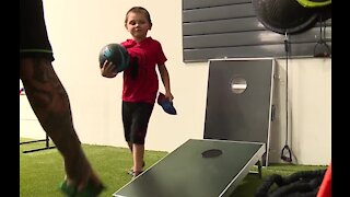 Wednesday's Child: 6-year-old Kyler excited for his athletic future