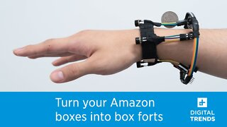 Thermal cameras on this wearable could be used by smart glasses to track hand motions