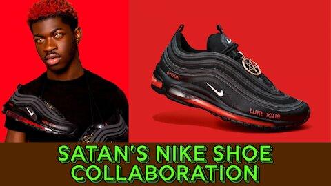 Satan's Nike Shoe Collaboration