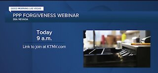 PPP forgiveness webinar taking place today