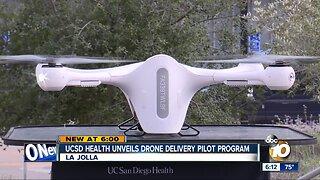 UCSD Health unveils drone delivery pilot program