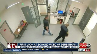 Watch: Booking video of Bakersfield Assistant Police Chief accused of domestic violence