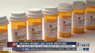 Saving money on your medicine