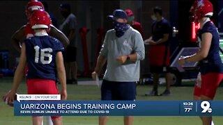 UArizona begins training camp
