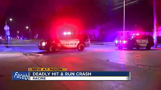 Pedestrian struck and killed by hit-and-run driver in Racine