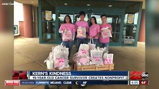 Local 19-year-old cancer survivor creates nonprofit