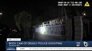 Body cam of deadly police shooting released