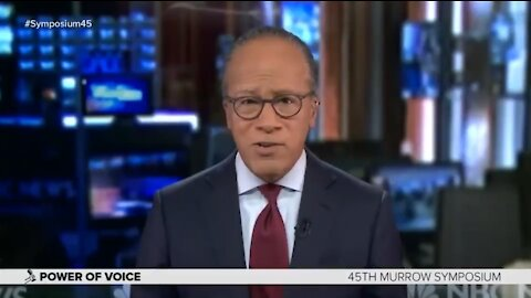 "INSANE: NBC's Lester Holt Says ""Fairness is Overrated,"" No Need to Be Balanced"