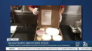 Buontempo Brothers says We're Open Baltimore!