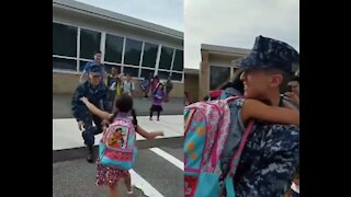 Military homecoming surprises #2
