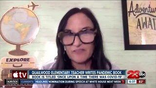 Quailwood Elementary teacher creates Covid-19 pandemic book