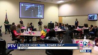 Stuart police hold 'girl power' event