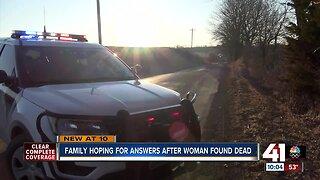 Family of woman found dead in Buchanan County seeks answers