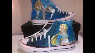The Legend Of Zelda BOTW -Al's Custom Shoes