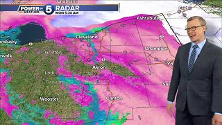 Winter Weather Advisory during morning commute