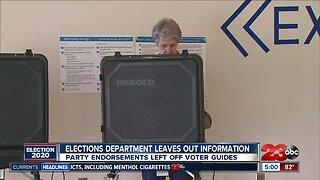Voter guides missing key information