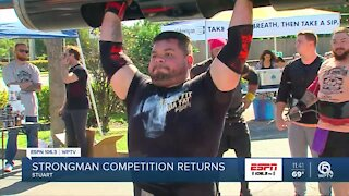 Strongman Classic takes over Stuart