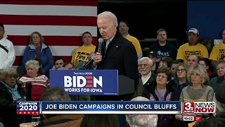 Biden campaigns on experience and it's swaying Iowa caucus-goers