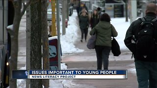 News Literacy Week: Issues important to young people