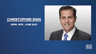 Former ABC15 reporter, anchor Christopher Sign passes away