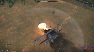 War Thunder - Immortal HE 51 A-1 Lots of Kills, NO DEATHS, 4th on winning team