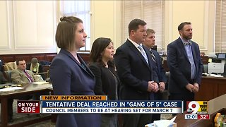Judge: Tentative settlement reached in 'Gang of 5' text message case