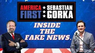 Inside the Fake News. Breitbart's Alex Marlow with Sebastian Gorka on AMERICA First