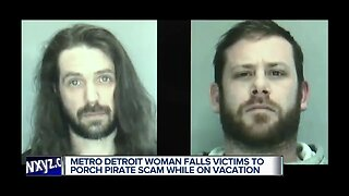 Metro Detroit woman falls victim to porch pirate scam while on vacation
