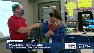 Excellent Educator: Nancy Stubblefield, Metro Christian Academy