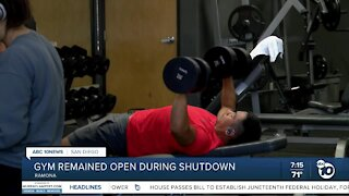 Ramona Gym owner reflects on the past year