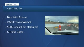 Central 70: New road opens & paving starts on underground tunnel