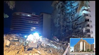 12 storey building in miami beach florida collapse