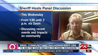Kern County Sheriff Donny Youngblood to hold panel discussion