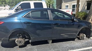 Tire thieves target more vehicles in Martin County