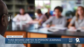 Some TUSD students return to in-person learning