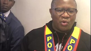 Deputy's remarks rough and regrettable, says Police Minister Mbalula (Yiy)