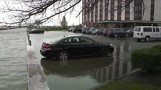 Port Clinton deals with flooding