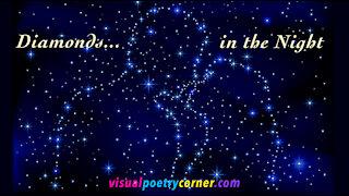 "Beautiful Love Poem: ""Diamonds in the Night"""