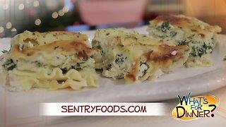 What's for Dinner? - Chicken Alfredo Lasagna