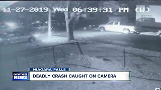 Deadly crash caught on camera