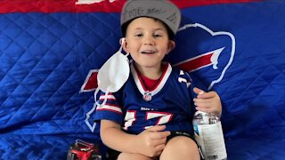 """Bills Kid"" bringing fans joy through video messages"