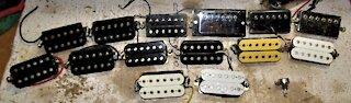 Electric Guitar Pickup Conversions