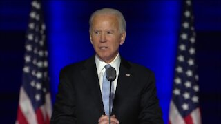 """""""They delivered us a clear victory"""": President-elect Joe Biden delivers remarks after win"""