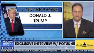 Latest Trump Interview: I have not conceded..Stay TUNED!